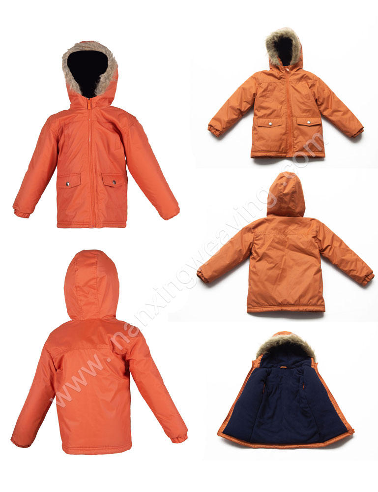 Kids Mid Long Puffer Jacket