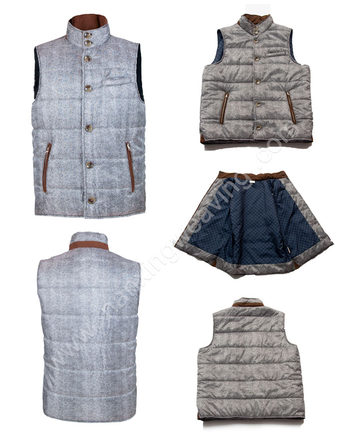 Casual Men Sleeveless jacket