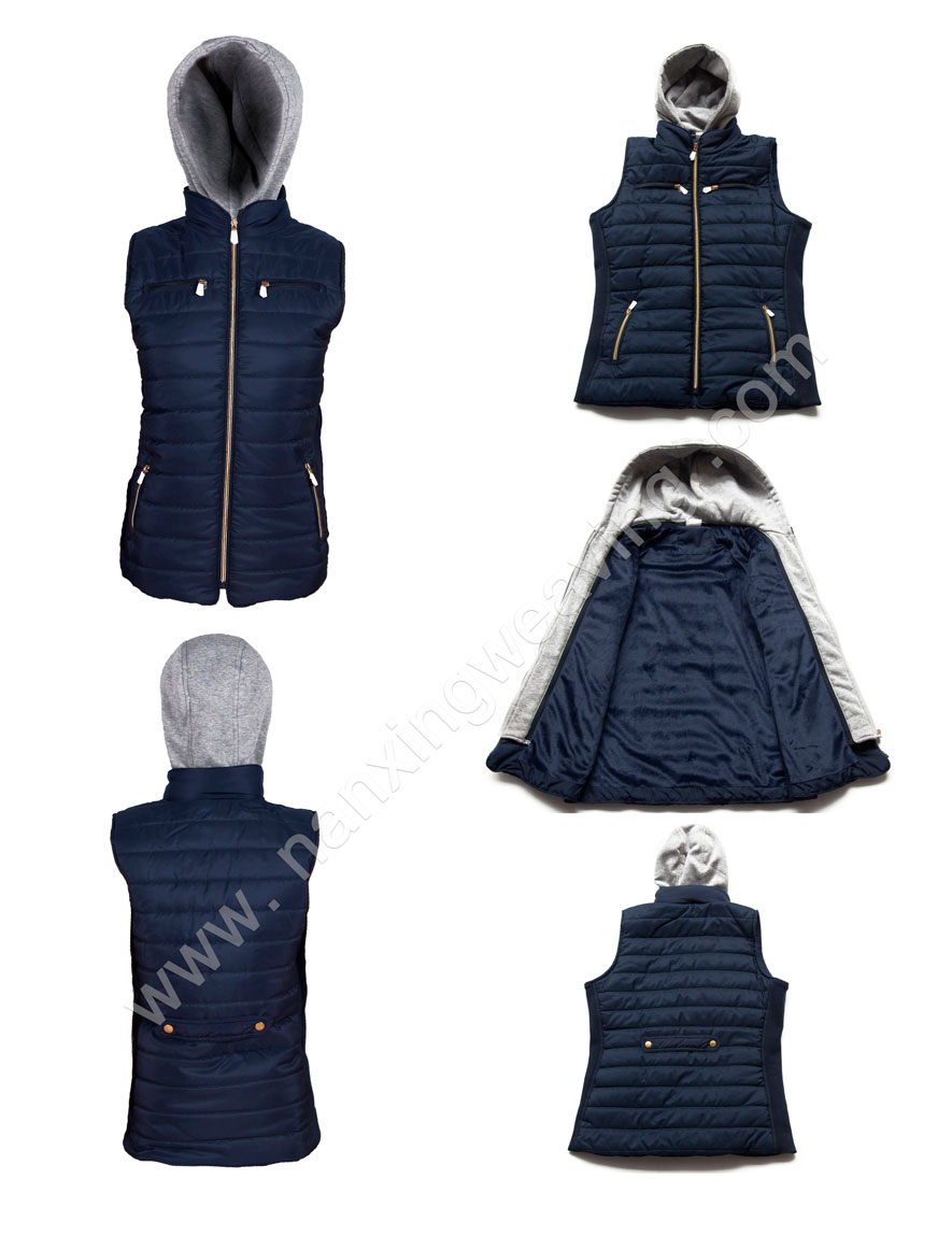 Navy Longline Jacket Women's