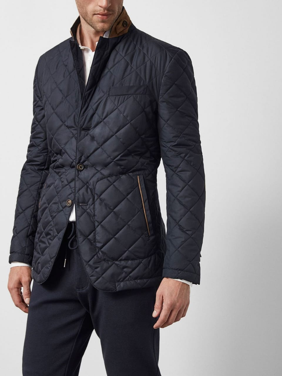 100% Polyester Coats And Jackets For Men Outwear