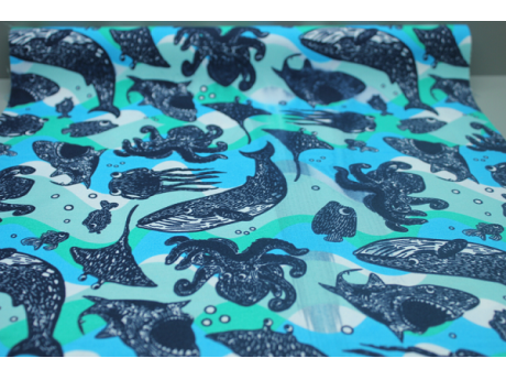 print polyester fabric for garment