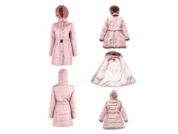 Pink Ladies Winter Coats