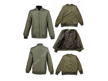 Olive Green Baseball Coats