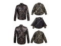 Camouflage LongSleeve Leather Shirt For Men