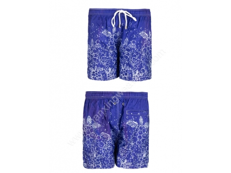 polyester pongee swimming trunks surfing shorts