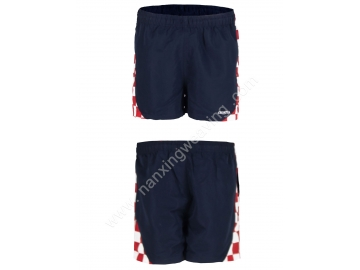 nylon navy board shorts for men