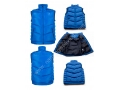 Sky Blue  Varsity New Design Bomber Men Vest Padded Jackets