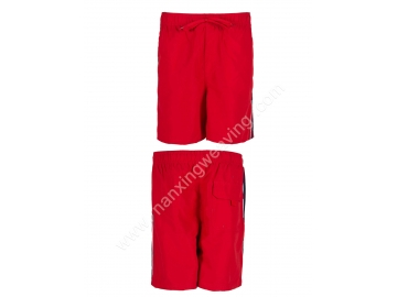 nylon red color Beach Boardshorts