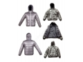 100% Nylon Cire Coating Shinny Winter Short Puffer Jacket For Kids