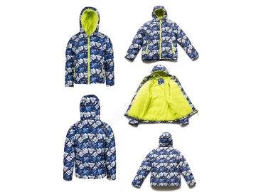 Kid's Long Sleeve  Down Jacket