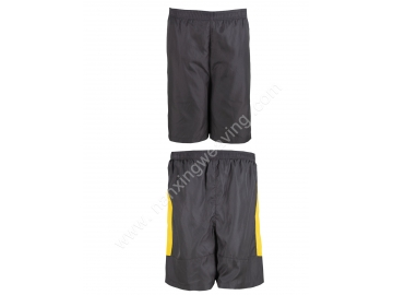 black color basketball trunks