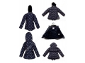 The Latest Children's Lovely Jacket Girls Winter Padded Jackets With Fur Hoody