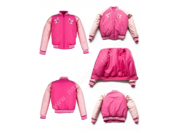 Young Girls  Baseball Uniform Coat