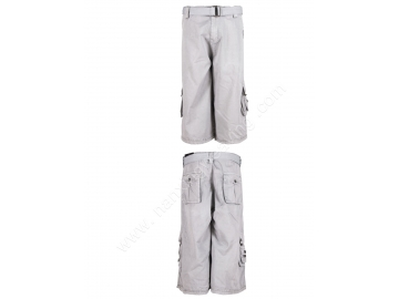 afea0d7000d7 Mens Beige Color High Quality Summer Cotton Multi Pockets Casual Shorts  Mens Cargo Shorts