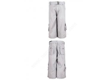 afea0d7000d7 Mens Beige Color High Quality Summer Cotton Multi Pockets Casual Shorts  Mens Cargo Shorts