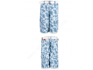 100%Cotton printed cargo shorts