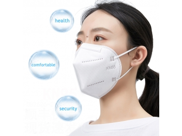 Disposable Mundmaske  FFP2 White 5 layers Non-woven Fabric KN95 face mask