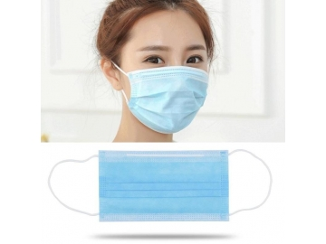 Surgical Masque  Melt-blown fabric protective disposable face mask 3 ply